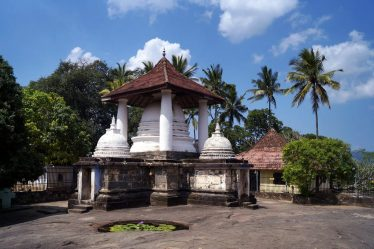 The Temple of Gadaladeniya
